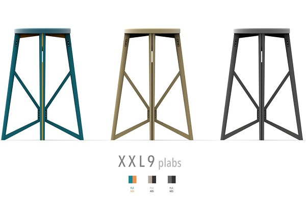 PLABS: 3D printed stool