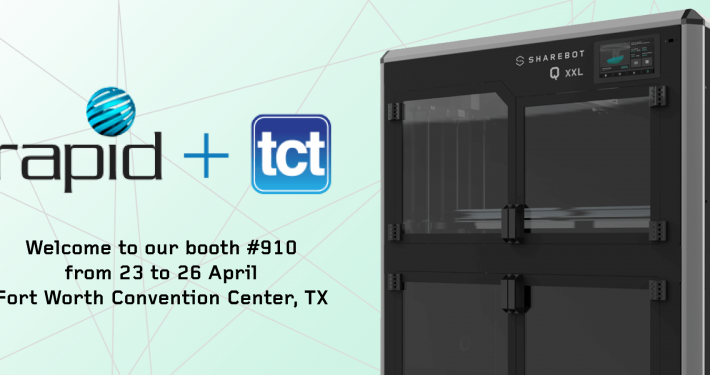 Rapid + Tct 2018 Sharebot Usa 3d printers
