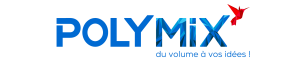 Logo Polymix 3d printer background sharebot france