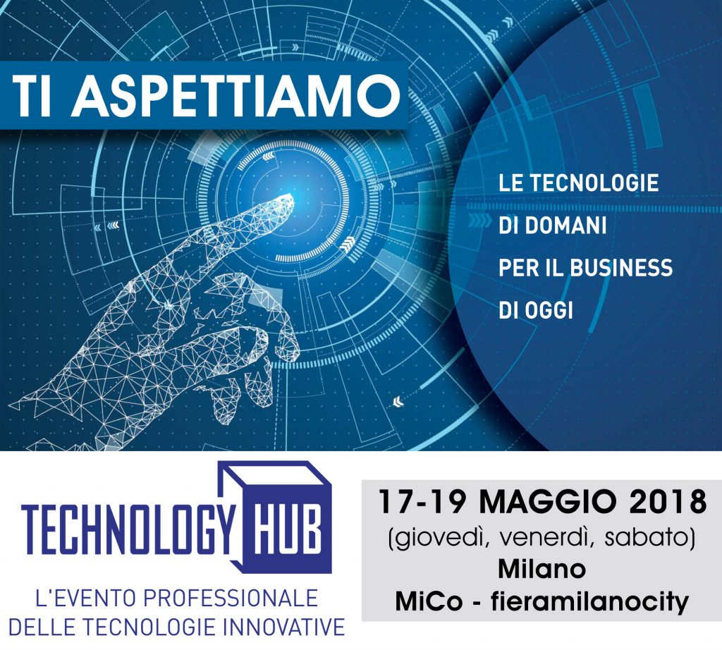 Technology Hub 2018 Sharebot stampa 3D