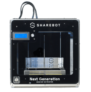 Sharebot ng filament 3d printer